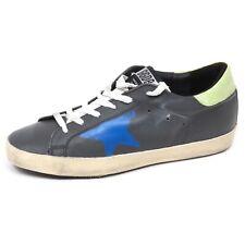 E8332 sneaker bimbo boy GOLDEN GOOSE SUPER STAR scarpe grey vintage shoe kid