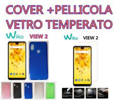 Cover Custodia morbida per WIKO VIEW 2 + PELLICOLA VETRO TEMPERATO