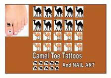 CAMEL TOE temporary adult tattoos