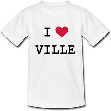 T-shirt Adulte personnalisé avec le nom de la ville de votre choix - du S au 2XL