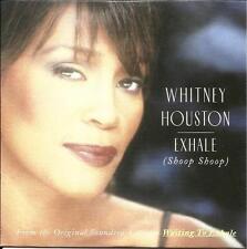 WHITNEY HOUSTON Exhale Shoop CARD SLEEVE CD single / Dancin on the Smooth Edge