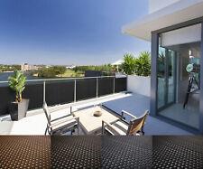 Rattan Balkon Und Terrassen Sichtschutz Balkonverkleidung 90 Cm 100 Cm  Meterware