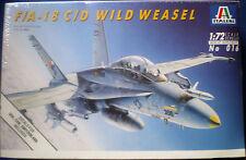 F/A-18 C/D Wild Weasel Aereo della ITALERI in Kit montaggio SCALA 1/72