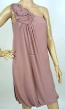 $298 NEW BCBG MAXAZRIA ONE SHOULDER ROSETTE DRESS 2