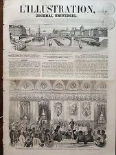 L'ILLUSTRATION 1858 N 787 SOCIETE DE SECOURS MUTUELS DISTRIBUTION DE RECOMPENSES