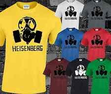 Heisenberg Gas Mask Mens T Shirt Breaking Bad Walter White Heisenberg S-3XL