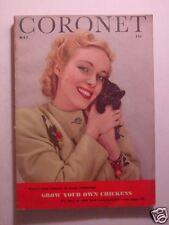 CORONET May 1943 43 WWII WWI 1918 J. J. ROBBINS JOHN GUNTHER MAURICE HINDUS +++