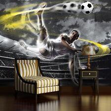 VLIES Fototapete Tapete Poster Foto Bild Tapeten SPORT FUSSBALL TOR 3FX2000VE