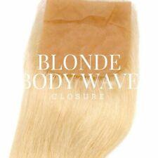Russian Blonde Body Wave Closure