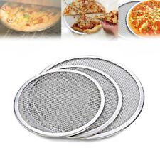 Aluminum Pizza Tray Screen Mesh Pan Pancake Net Pastry Bakeware Baking Tools