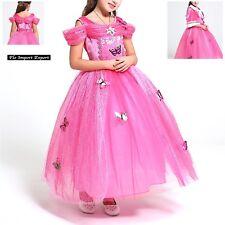 Aurora Vestito Carnevale Maschera Bella Addormentata Cosplay Girl Dress AUR015