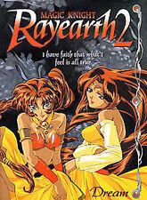 Magic Knight Rayearth Season 2 Vol 6 - Dream - BRAND NEW - Anime Works DVD CLAMP