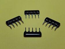 Resistor Network 4 Commoned Resistors 5 Pin Package Multi-Variation Listings
