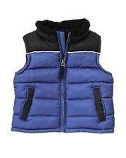 GYMBOREE SNOWBOARD LEGEND BLUE PUFFER VEST 6 12 24 2T 3T NWT