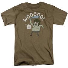 Regular Show Wooooo Licensed Adult T Shirt