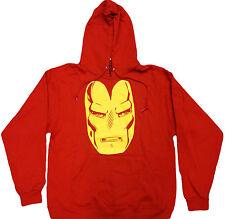 Ironman Pull Over Fleece Hoodie - Official Marvel Comics Superhero Avengers