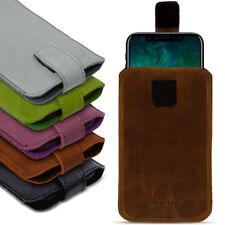 Leder Tasche für Apple iPhone Serie Pull Tab Sleeve Hülle Schutzhülle Case Cover