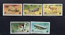 TANZANIA 1977 WWF set complete VF MLH
