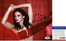 Hot Katrina Law Signed 8x10 Spartacus Mira PSA/DNA