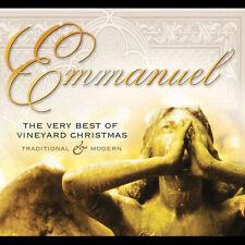 NEW - Emmanuel: The Very Best of Vineyard Christmas by Various