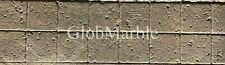 Tumbled Travertine Border. Concrete Stamp Mold SM 6010. Travertine Concrete