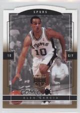 2003-04 Skybox Limited Edition Gold Proof 152 Alex Garcia San Antonio Spurs Card
