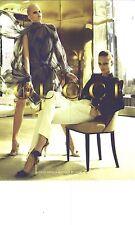 PUBLICITE 2012  GUCCI haute couture collection estivale