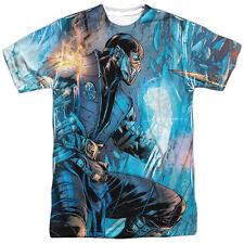 Mortal Kombat Kombat Comic Sublimation Licensed Adult T Shirt