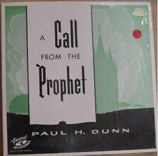 PAUL H DUNN, CALL FROM THE PROPHET - GOSPEL LP