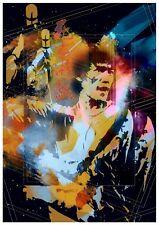 Bruce Lee arte cartel impresión digital T1203 | A4 A3 A2 A1 A0 |