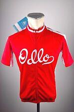 ODLO Herren Rad Trikot Gr. S Zip Stand-up MTB Bike CYCLING jersey Fahrrad Shirt