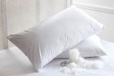 LUSSO 100% puro cuscino piuma d'oca ungherese nel 500 fili; rivestimento cotone