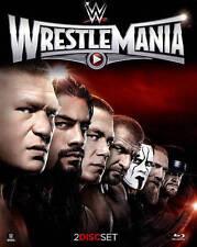WWE: Wrestlemania XXXI (Blu-ray Disc, 2015, 2-Disc Set) NEW