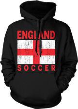 England Flag Soccer - Futbol Football Nationality Pride Hoodie Pullover