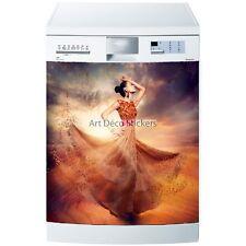 Stickers lave vaisselle ou magnet Flamenco 5481