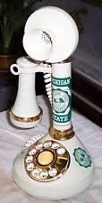 1970s U.S. MFGR REFURB MICHIGAN STATE CANDLESTICK PHONE