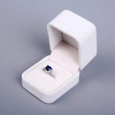 Engagement Velvet Ring Box Jewelry Display Storage Case For Valentine's Day Gift