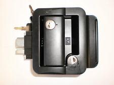 Fastec Travel Trailer RV Camper Door Latch Handle Lock Black