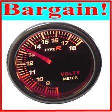 2 INCH VOLTMETER VOLT TACHO GAUGE SKYLINE 200SX WRX EVO R32 R33 R34 S13 S14 S15