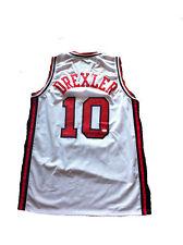 Clyde Drexler Signed 1992 USA Dream Team Jersey JSA