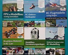 RC Modellbau 6 Praxishandbücher mit DVD !!! zum aussuchen oder komplett  NEU !!!