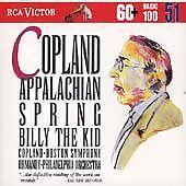 Copland: Appalachian Spring; Billy the Kid (CD, Nov-1994, RCA) Factory Sealed