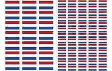 Netherlands Flag Stickers rectangular 21 or 65 per sheet