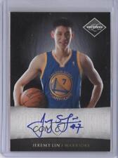 2010 Limited Next Day Autographs Autographed #5 Jeremy Lin Auto Basketball Card