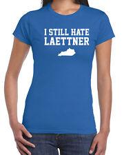 328 I Still Hate Laettner womens T-shirt funny wildcats kentucky ky basketball