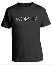 Christian Religious  T-Shirt WORSHIP Jesus
