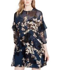 Rachel Roy Womens Ruffled A-Line Dress