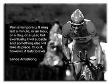 Premium canvas art Lance Armstrong Vélo Cite * Plusieurs tailles *