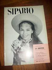 SIPARIO LA GIUSTIZIA TRE ATTI DI GIUSEPPE DESSI  N.155 MARZO ANNO:1959 TV)