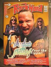 ROCK HARD METAL MAGAZINE 126 - 1997 - JUDAS PRIEST MIT POSTER & CD